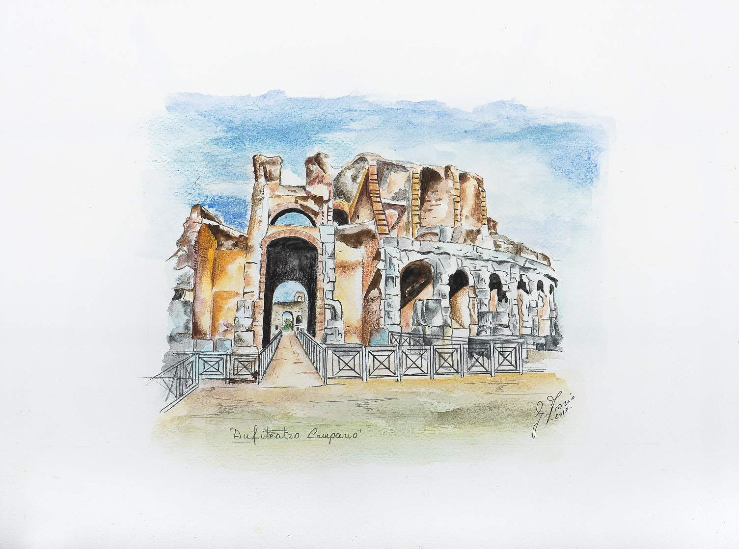 Anfiteatro campano di Gerardo Iorio