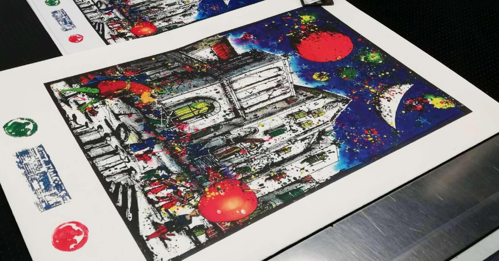 Regali di Natale 2019: 450 litografie d'arte per Promomedia